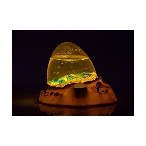Aqua Dragons Jurassic Eggspedition LED in the dark