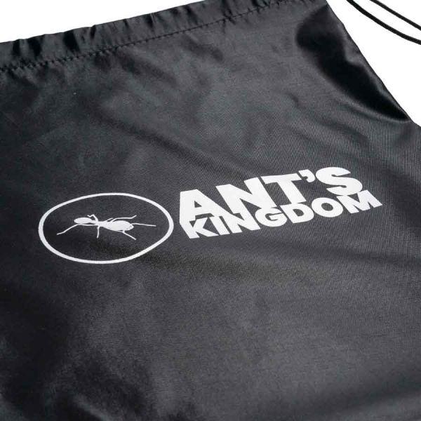 Close up logo on bag